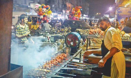 hussainabad food street karachi food in karachi