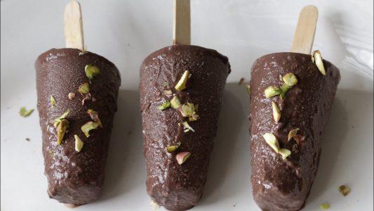 How to make Chocolate kulfi at home